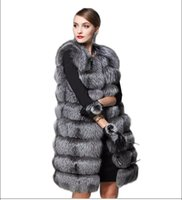 Wholesale Brand New Winter Women Fur Vest Fashion Faux Fur Coat Plus Size Warm Fur Coat S M L XL XXL XXXL