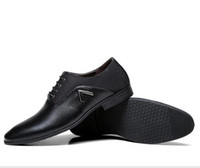 Wholesale Simple Shoes For Men - Brand New Simple Style Men Dress Shoes Lace-Up High Quality Oxford Shoes For Men, Fashion Men Oxford