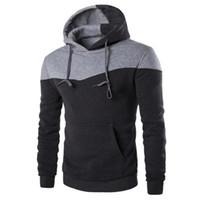 знаменитый бренд одежды оптовых-Fanshion Mens Hoodies Long Sleeve Pullover Hoodies Mens Clothes Hip Hop Famous Brand Men Hooded Sweatshirt Sudaderas