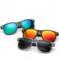 Wholesale popular grains - Popular Model Europe and United States Sports glasses Wood grain sunglasses Fashion sunglasses colors