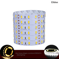 Wholesale Wholesale China Dc - LED Flexible Strips Lights IP68 1080LEDs 5M Roll 5730SMD 3014 3528SMD Cool White DC12V Warm White Outdoor Waterproof Lamps China Wholesales