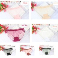 Wholesale Transparent Underwear Charm Lingerie - 1 pc New Sexy Women Lady Girl charming intimates Lace Panties Transparent Lingerie Briefs Underwear