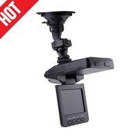 Wholesale Top Car Camera Dvr - Top selling 2.5'' Car Dash cams Car DVR recorder camera system black box H198 night version Video Recorder dash Camera 6 IR LED
