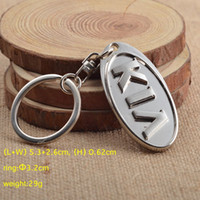 Wholesale Kia Keyring - Wholesale 3D Silver Metal Auto Keychain Car Keyring Key Chain Ring for KIA K2 K3 K4 K5 Leopard Key Holder Keyfob 4S Gift