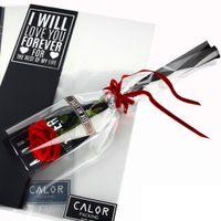 Wholesale Cellophane Wrap Wholesalers - Flower Wrapping Paper Silver Single Branch Bag OPP Waterproof Cellophane Fresh Bouquet Packaging Florist Decoration 20pcs lot