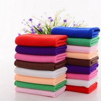 Wholesale Clean Towels For Cars - 30 * 70CM Soft Thick Textile Microfiber Car Wash Cleaning Towel Microfiber Cloth For Car Accessories 100pcs