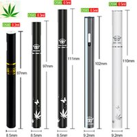 Wholesale E Sigarette - New Bud Cartridge disposable CBD Pen Mini Empty Disposable Vaporizer Pens Bud touch e sigarette THC atomizer top in USA