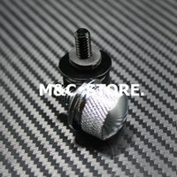 "Wholesale Black Seat Bolt - Seat Quick Mount Bolt Screw Cap For Harley 1996-2015 with 1 4""-20 Black And Chrome"