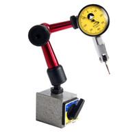 manometerhalter großhandel-Messuhr Messuhr Skala Präzision + Flexible Magnetfußhalter