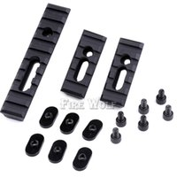 Wholesale picatinny tactical accessories - Pack of AR Rifle Accessory Unity Tactical Multi Purpose Picatinny Rail Mount Set For Handguards