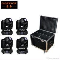 Led Leuchtet Billige Preise Kaufen -Flightcase 4IN1 + 4XLot 40W LED Spot Moving Head Stage Lights Günstige Preis DMX 10/12 Kanal 100W Power Consumption Compact Größe