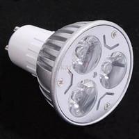 e14 lâmpada led cree 5w venda por atacado-6 PCS POWER CREE lâmpada led 3 W 4 w 5 W Dimmable GU10 MR16 E27 E14 GU5.3 B22 Levou Luz Holofotes lâmpada led