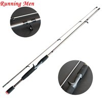 Wholesale Lure Rod Carbon - 1.8M 2.1M M Power 1 8-3 4oz 6-15LB Carbon Spinning Casting Lure Fishing Rod
