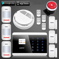 LS111- KERUI 99 Wireless Touch Panel + Display LCD TFT GSM PSTN SMS Sicurezza Home Security Alarm Burglar Alarm Engllish Russo Spanich Francia