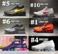 Wholesale Original Brand Shoes For Women - 2018 free shipping original vapormax Running Shoes For Men Women, cheap Brand Essential 2018 Sports Shoes Outdoor Sneakers