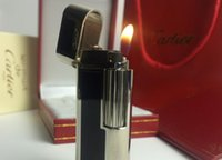 Wholesale S T Memorial Catier lighter Bright Sound New In Box Serial number KD2012 quot Ping quot Sound Pure Copper