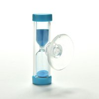 Wholesale Tooth Brush Cup - Wholesale- Hourglass Sand Timer Clock 3 Minute Sandglass for Tooth Brush Shower Timer with Suction Cup Kid Child Math Learning Toys
