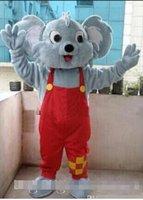 Wholesale Adult Koala Bear Costume - Hot sale Professional Koala Bear Mascot Costume Fancy Dress Adult Size New Arrival free shipping