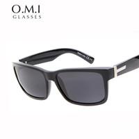 Wholesale Elmore Sunglasses - Superstar Elmore Sunglasses Polarized Sport Square Classic Men Sun Glasses Driving Fishing 2017 Brand Designer OM247