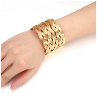Wholesale 2017 Fashion Multilayer Opening Hollow Punk Cuff Bracelet For Women Vintage color punk Maxi Bracelets Bangles Jewelry