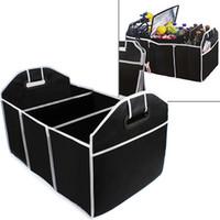 ingrosso scatola dell'organizzatore degli accessori-Car Trunk Organizer Car Toys Contenitore per alimenti Contenitore per alimenti Box Styling Auto Accessori per interni Forniture per attrezzi CEA_306