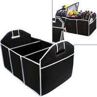 Wholesale food container organizer - Car Trunk Organizer Car Toys Food Storage Container Bags Box Styling Auto Interior Accessories Supplies Gear CEA_306