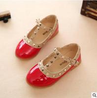 Wholesale shoe adornment resale online - Girl Shoe Children Shoes Rivets Adornment Fashion For Girls Shoes Brand Sneaker