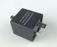 Wholesale Car Relays Signal - Car Motorbike CF13 12V 3 Plugs LED Flasher Relay Turn Signal Indicator Frequency adjustable