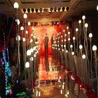 Wholesale 2m stand - Fashion Wedding Backdrop Centerpieces Decor Mirror Carpet Aisle Runner For Party Decoration Supplies 1m 1.2m 1.5 1.8m 2m Wide