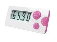 zamanlayıcı için lcd toptan satış-Yeni moda Geri Sayım Sayacı 99 dakika 59 saniye LCD Dijital Lab / Mutfak Mini Zamanlayıcı Röle Dijital LCD Zamanlayıcı
