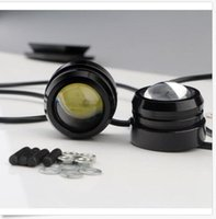 Vente en gros 40 * 30mm 3W voiture éclairage Eagle Eye Strobe Flash LED LED Daytime Running Light DRL phares antibrouillard