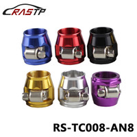 Wholesale radiator hoses for sale - RASTP AN AN APS Aluminium Alloy Fuel Oil Radiator Rubber Fuel Oil Water Pipe Jubilee Clip Clamp Hose Finisher Clamp RS TC008 AN8