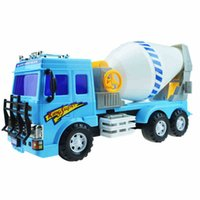 Wholesale Large Toy Excavator - Large inertia children toy truck model car excavator truck mixer mining car model toy vehicle