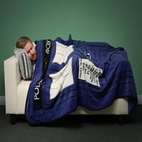 Wholesale Polyester Sheets - Baby Blanket BBC Secret DoctorWho Tardis Blanket Coral Fleece Blanket Soft Sofa Blankets Travel Camping Towels Bed Sheet 127*226CM