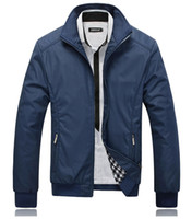 ingrosso i ragazzi cadono i vestiti-Uomini giacca nera cappotto nero giacche casual uomo giacca a vento all'aperto jaqueta masculina veste homme marchio di abbigliamento più il formato m-5xl