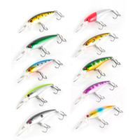 Wholesale Deep Fishing Lures - 10 Colors 9.2cm 8g Fishing Lure Deep Swim Hard Bait Ocean Rock Fish Artificial Baits Minnow Fishing Wobbler Japan Pesca 2508013