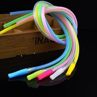 Wholesale hoses home online - Clear Silicone Tube Practical Colour Drinking Straws Silica Gel Hose Non Toxic Tasteless Tubularis Drink Tools Straw For Home Outdoors xb