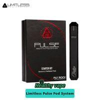 Wholesale Baby Pods - Original Limitless Mod Co Pulse Pod Vape Pen System 380mah Battery VS limitless LMC 200w   Smok Alien Baby AL85 Kit