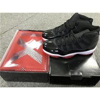 best discount martial art boots - Double Box 2017 Air Retro 11 XI Black Red BRED Men basketball Shoes Running Sneakers Top Quality With Original box 136046-061 Discount