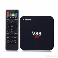 Android 6.0 V88 tv boxe Günstigstes RK3229 Quad-Core 1GB 8GB Smart TV-Box WiFi 3D HDMI TV Günstige Set-Top-Box Media Player