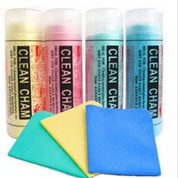 Wholesale Bathing Table - 2017 new High quality magic Absorbent PVA cleaning pet towel imitation absorbent towel dog cat accessories Five Color Random