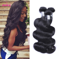 Wholesale Brazilian Body Wave Remy Hair - 8A Peruvian Indian Malaysian Cambodian Brazilian Virgin Hair Weave Bundles Straight Loose Deep Body Wave Curly Natural Human Hair Extensions
