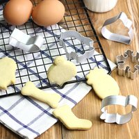 Wholesale Animal Baking Cutters - Fantasy Animal Shape Cookie Cutter Stainless Steel Butterfly HeartBiscuit Baking Mold Stainless Steel Toy For Home Chinese Kitchen Supplies