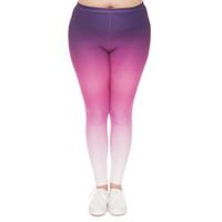 флеш спорт оптовых-Девушка леггинсы Flash Stars 3D графический печатных женщин карандаш Fit повседневные брюки Леди Спорт удобные брюки плюс размер подходит L XL XXL (J45753)