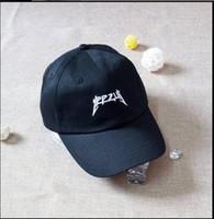 Wholesale life like - wholesale I Feel Like Pablo Hat Cap In Burgundy Yeezus Kanye West The Life Of Pablo Noir Snapback