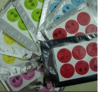 Wholesale Repellent Sticks - 6Pcs Set Mosquiot Repellent Stickers Patches Smiling Face Drive Midge Citronella Oil Mosquito Killer Cartoon Repeller Stick