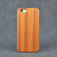 Wholesale Craft Phone - Handcrafted Mobile Phone Case for Samsung S7 Fashion Sapele Wood Grain Craft eco-friendly phone case for iphone 6plus