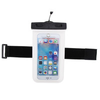 """Wholesale Cell Vision - universal waterproof case with armband and lanyard for cell phone under 6.0"""" PVC clear vision window ultra sensitive touch water proof 30m p"""