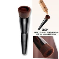 Wholesale Hair Functions - BareMinerals Liquid Foundation Brushes Multi-Function Makeup mineral Brush Facial Care Liquid Soft Synthetic Hair Wooden Brushes
