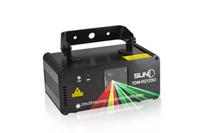 Wholesale Dj Laser Light 3d - New Arrival 3D Laser Stage Light Lighting Performance of Radium Shoots Light Flash 100 Kinds Effect + Remote Control KTV Bar